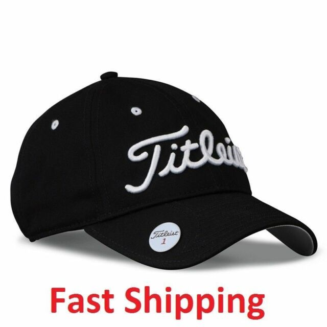 e782a9c027e Golf Titleist Performance Black Hats Cap Magnetic Premium Ball Marker Free  Ship!