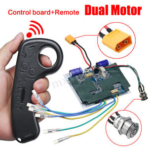 10S-Hub-Motor-Dual-Motor-Electric-Skateboard-Remote-Controller-Control