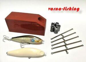 Details about DIY Hard bait fishing kit, Slider Hard Lure Mold  DIY hard  lure, 75 mm / 3 inch