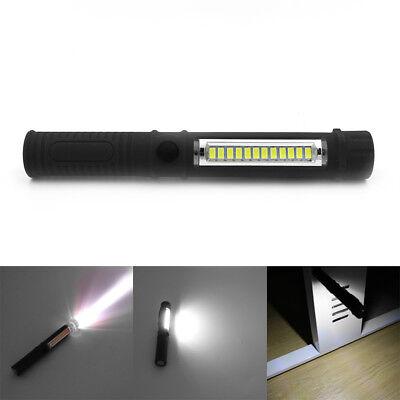 Multifunction Tragbar Cob Led Handlampe Arbeitslicht Taschenlampe Torch Magnet Kann Wiederholt Umgeformt Werden.