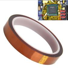 DZ930 5mm 100ft Kapton Tape BGA High Temperature Heat Resistant Polyimide Gold♫