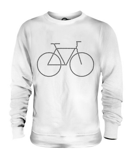 BICYCLE CHAIN BIKE UNISEX SWEATER  TOP GIFT CYCLING MECHANIC