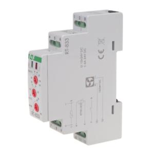 F&f rt-833 regulador de temperatura con ventilador control en el armario-ventilador
