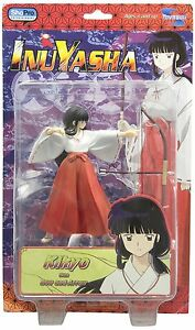 Inuyasha anime Collection 1 Kikyo w/ bow & Arrow 6in Action Figure Toynami Toys