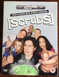 Scrubs-Series-1-Complete-DVD-2005-4-Disc-Set