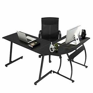 Ebay office desks Oak Image Is Loading Greenforestlshapecornercomputerofficedeskpc Ebay Greenforest Lshape Corner Computer Office Desk Pc Laptop Table