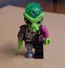 Lego Alien Conquest Alien Android Figur Ausserirdischer Space grün Weltraum Neu