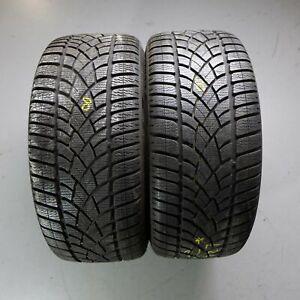 2x-Dunlop-Sp-Sports-D-039-Hiver-3d-r01-235-35-r19-91-W-pneus-hiver-DOT-3518-7-mm
