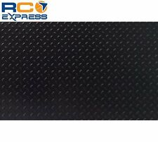 Hot Racing 1/10 Scale Aluminum Black Diamond Plate (2) ACC1801DP