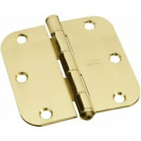 ( 2 ) 3 1/2 Door Hinges - 3 Hinge Pack By Gatehouse