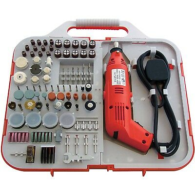 HEAVY DUTY 162PC MINI DRILL GRINDER ELECTRONIC HOBBY CRAFT DIY MODEL MAKING TOOL