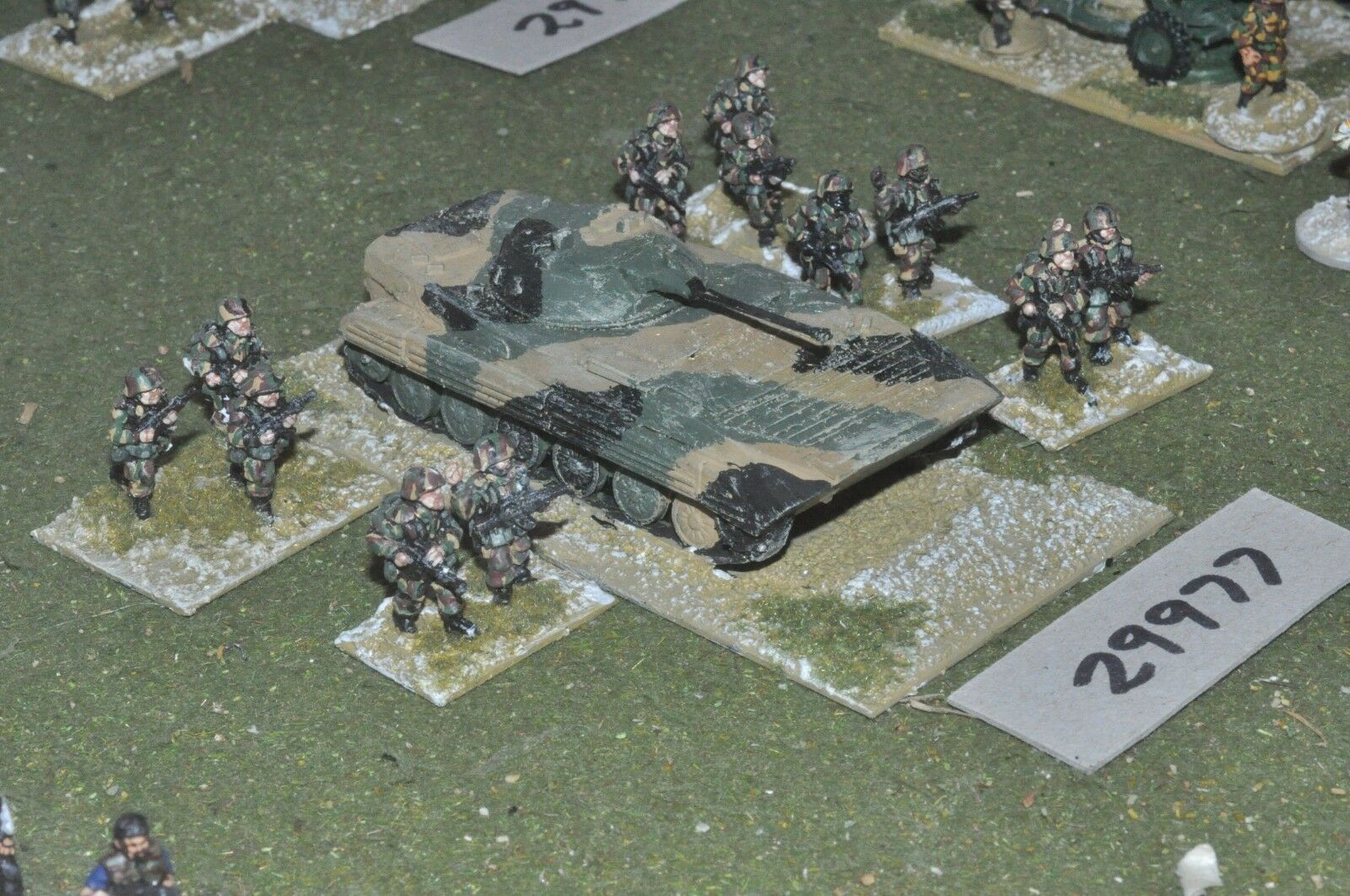 20mm modern   UN - battle group (as photo) - inf (29977)
