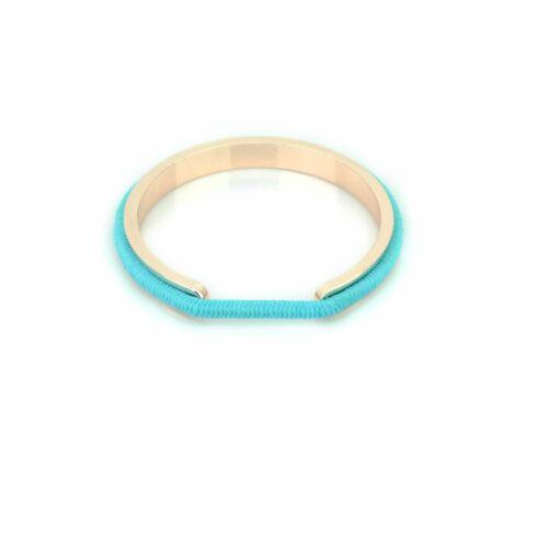 Shatchi Oro Rosa Banda de Goma Pelo Pulsera titular Luz Azul Banda de goma de 18 Cm