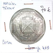 JETON NOTAIRES - TREVOUX - POINÇON CORNE - LEROUGE 409