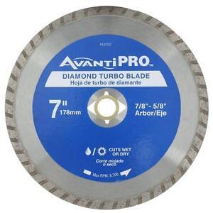 Avanti Pro 7 Inch Diamond Circular Saw Blade Cutting Tool