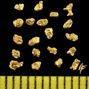 TOP-Geschenk-20-Echte-Gold-Nuggets-Alaska-20-23-Karat-Schmuck-Muenze-Barren