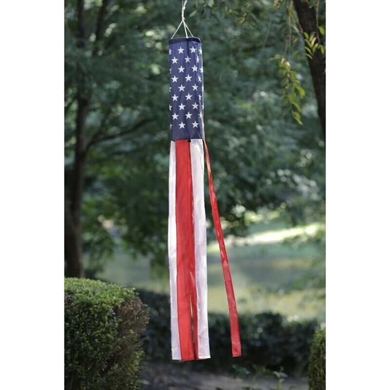 American Flag Windsock Show United States Patriotic Windsock #U26