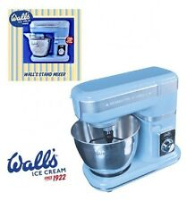 Walls Ice Cream Premium Multipurpose 8-Speed Stand Mixer w/ Beater Whisk & Bowl