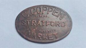Market Token STRATFORD London. C. Coppen, Ten Shillings 10/- by C.Neal