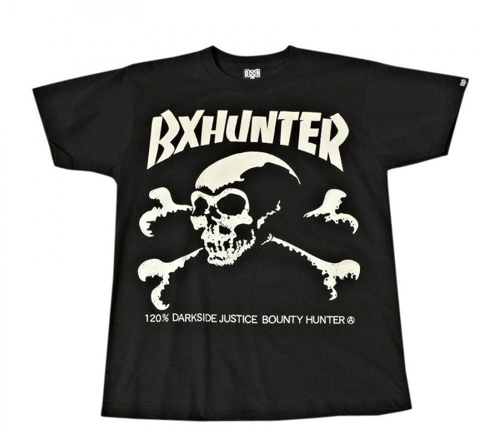 Bounty Hunter Japan skull logo Hunter T-shirt, Bounty x Hunter logo BxH NEXUSVII Unrivaled 5b9285