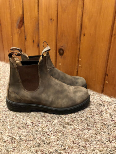 Blundstone Boots Rustic Brown Size US 11 AUS 8