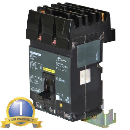 SQUARE D FA34015 15 AMP 480 VOLT 3 POLE I-LINE CIRCUIT BREAKER--MSE