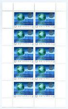 Austria 2005 100th anniv of Rotary, sheet of 10 mint