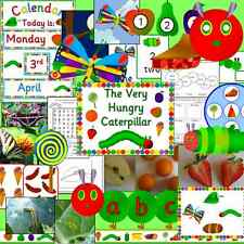 The Very Hungry Caterpillar -teaching resources on CD- EYFS, KS1 for story sack