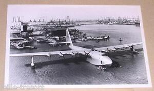 Carte-Postale-Aviation-SPRUCE-GOOSE-Howard-HUGHES