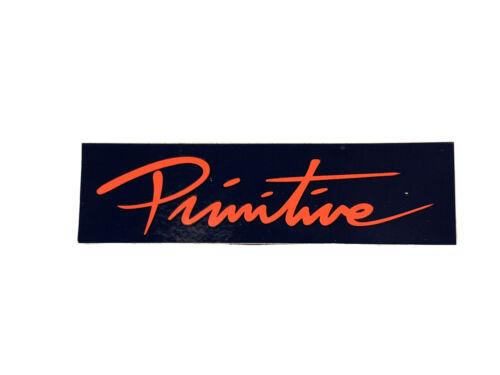Primitive Skateboard Nuevo Bar Logo Sticker 4in Navy//Red