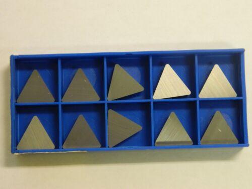 Korloy Tpu433 C2 2042-8040 Carbide Inserts Qty 10 78230935