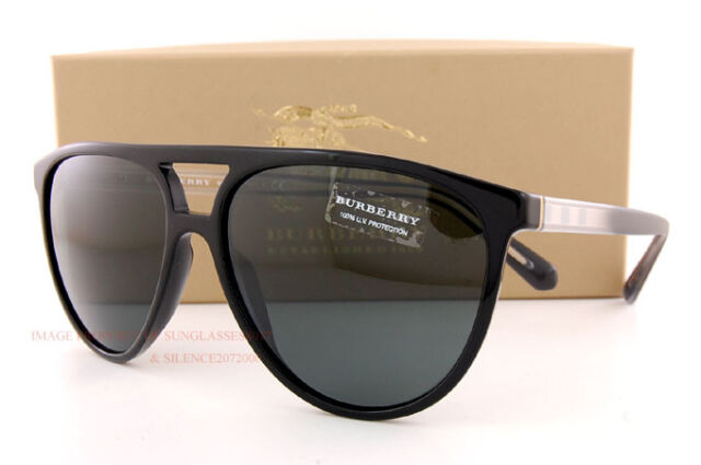 Brand New Burberry Sunglasses BE 4254 3001/87  Black/Gray For  Women