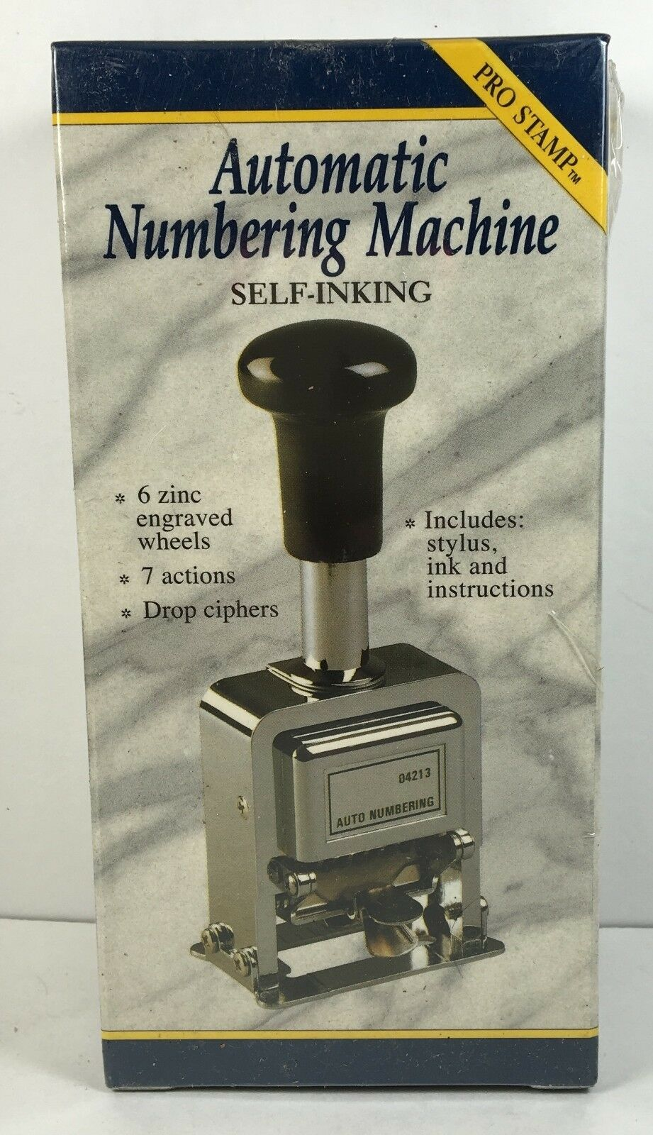 Newell Rogers Automatic Numbering Stamp Machine Business & Industrial