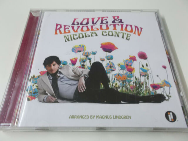 42062 - NICOLA CONTE - LOVE & REVOLUTION - 2011 CD ALBUM (0602527687087)