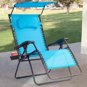 Folding Garden Outdoor Home Recliner Lounge Chair With