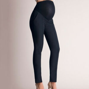 Pregnant Women Stretchy Leggings Long Pants Maternity Work Cotton Trousers New