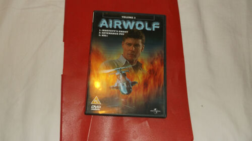 1 of 1 - AIRWOLF  DVD  ONLY AS SHOWN ON PHOTOS  VOL  3