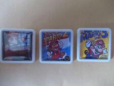 3 Juego De Super Mario Bros cubre Pins Insignias poste libre en el Reino Unido