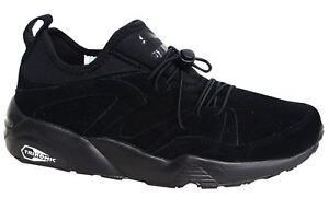 Détails sur Puma Trinomic Blaze Of Glory Soft Homme Noir Baskets 360101 06 M15 afficher le titre d'origine