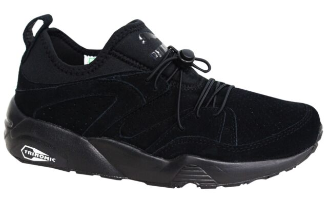 Puma Trinomic Blaze of Glory Soft Mens Black Trainers Shoes 360101 06 M15 bb3a5777e