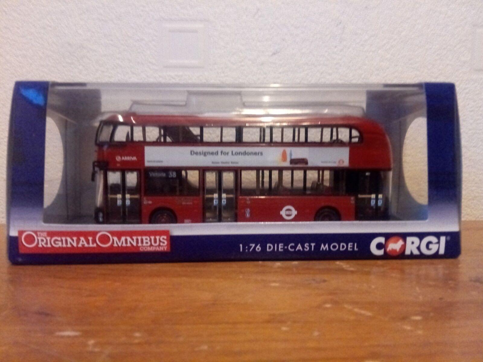 CORGI  OM46601  NEW BUS FOR LONDON  BUS