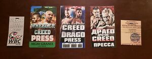 Creed-2-Production-Used-034-COMPLETE-034-PRESS-Fight-Pass-Set-Original-Movie-Prop