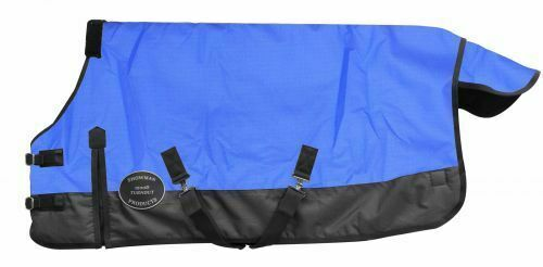 """Showman PONY//YEARLING 56/""""-62/"""" Waterproof /& Breathable 1200 Denier TURNOUT SHEET"""