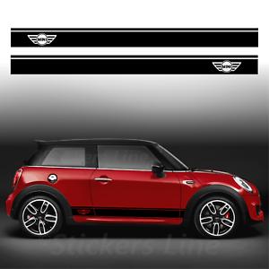Fasce-adesive-Mini-Cooper-strisce-fiancate-adesivi-laterali-stripes-bonnet