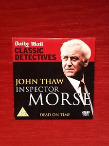 John Thaw Inspector Morse  Dead on Time  Mail Promo DVD - Seaton Carew, Cleveland, United Kingdom - John Thaw Inspector Morse  Dead on Time  Mail Promo DVD - Seaton Carew, Cleveland, United Kingdom