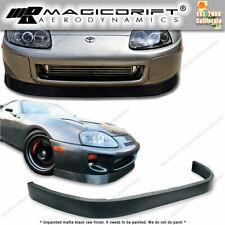 For 93 98 Toyota Supra Kansai Style Front Bumper Lip Spoiler Poly Urethane 94 95 Fits Toyota Supra