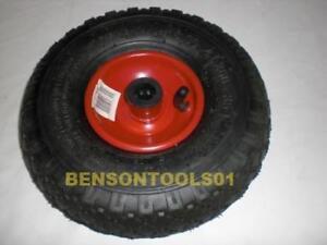 Pneumatic-Wheelbarrow-Wheel-3-00-4-Auf-Steel-Rim-Spare-Tyres