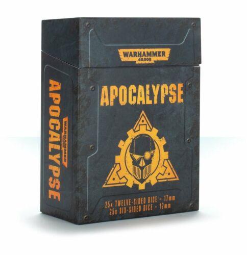 Games Workshop  Warhammer  40000 GW-40-42 Apocalypse Dice