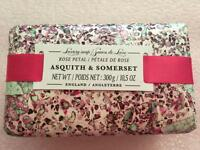 Asquith & Somerset Rose Petal Luxury Bar Scented Soap