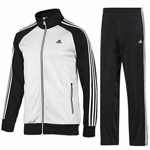 Details zu adidas Herren Trainingsanzug Riberio 3 Streifen Sportanzug Jogginganzug Jogger